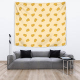 Cheese Pattern Wall Tapestry