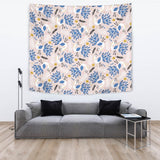 Cute Peacock Pattern Wall Tapestry