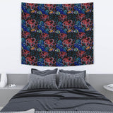 Octopus Sea Wave Tropical Fishe Pattern Wall Tapestry