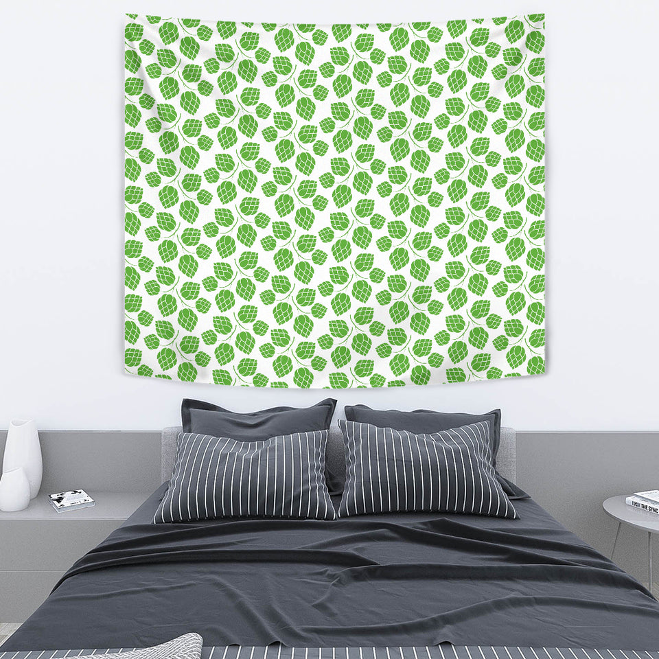 Hop Pattern Background Wall Tapestry