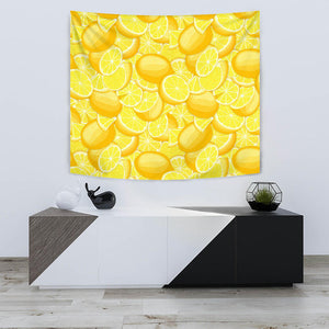 Lemon Pattern Wall Tapestry