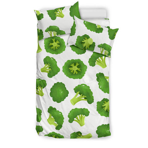 Cute broccoli pattern  Bedding set
