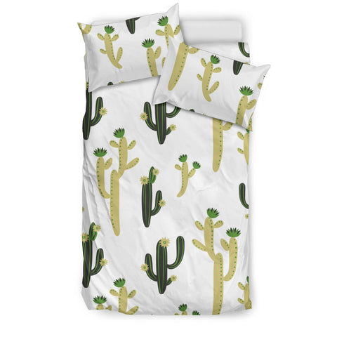 Cute cactus pattern  Bedding set