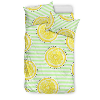slice of lemon pattern Bedding Set