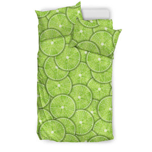 Slices of Lime pattern Bedding Set