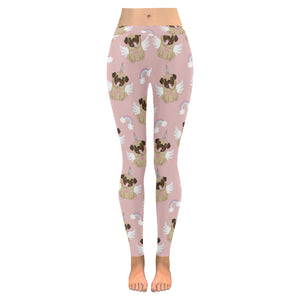 Cute unicorn pug pattern Women's Legging Fulfilled In US