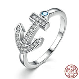 Womens Anchor Ring ccnc006 bt0113