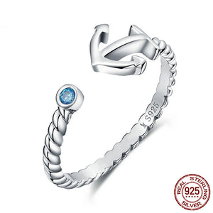 Womens Anchor Ring Ccnc006 Bt0174