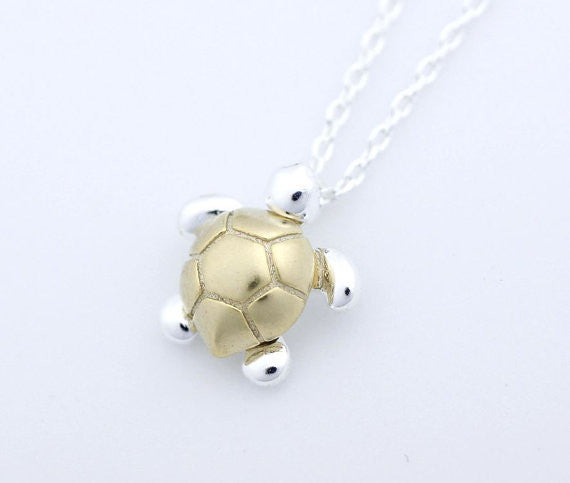 Sea Turtle Pendant Necklaces