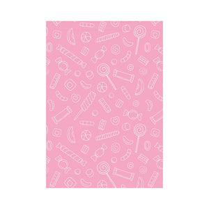 Sweet candy pink background House Flag Garden Flag