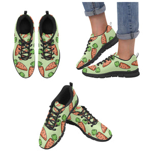 Carrot Pattern Print Design 05 Women's Sneaker Shoes