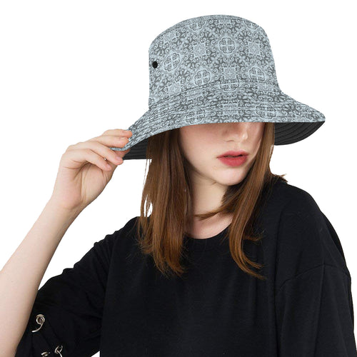 Traditional indian element pattern Unisex Bucket Hat
