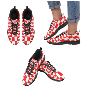 Canada Pattern Print Design 05 Women's Sneaker Shoes
