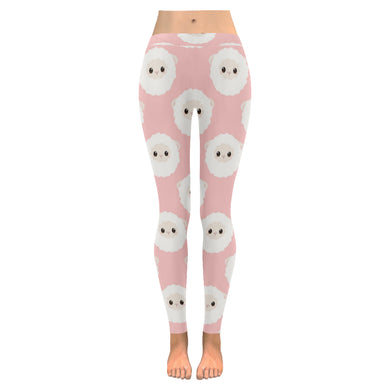 Cute sheep pattern Women's Legging Fulfilled In US