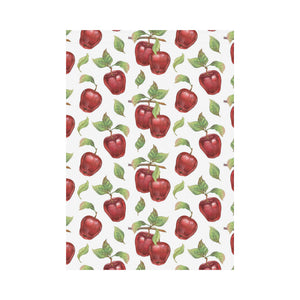Red apples pattern House Flag Garden Flag