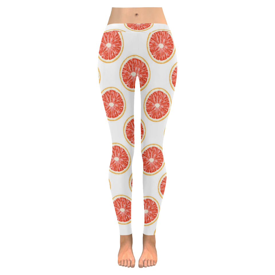 Grapefruit pattern Women's Legging Fulfilled In US
