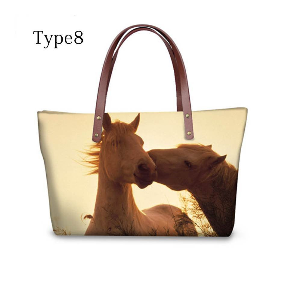 High quality women handbags Horse pattern ccnc002 hp0008
