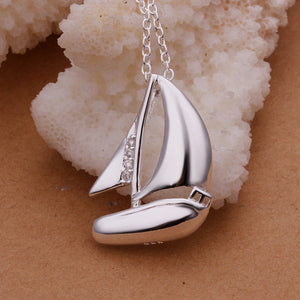 Sailboat Pendants Necklace