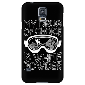 Phone case-My Drug Of Choice Is White Powder ccnc004 sw0032