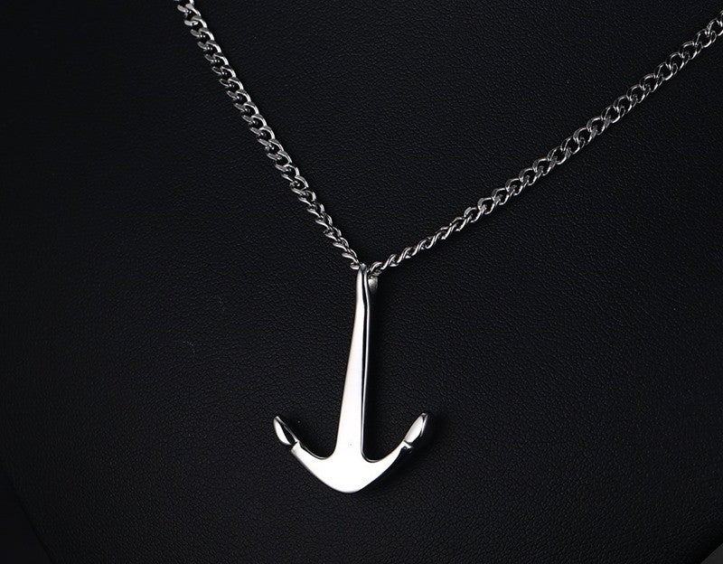 Anchor Pendant Necklace Womens Mens Ccnc006 Bt0137