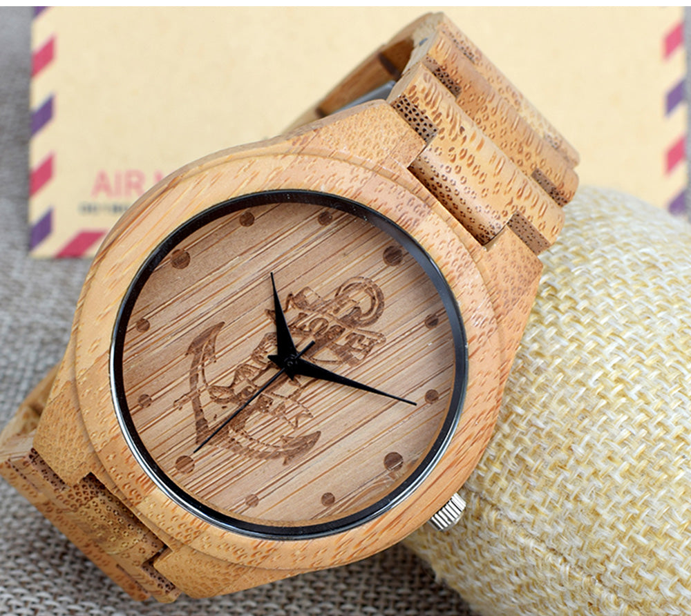 watches feminino bamboo image women culture natural watch luxury collections relogio product s maple