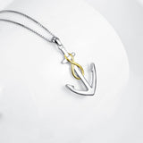 Anchor Pendant Necklace Womens ccnc006 bt0127