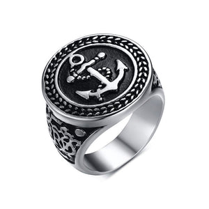 Mens Womens Anchor Ring  Ccnc006 Bt0118