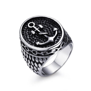 Mens Womens Anchor Ring Ccnc006 Bt0119