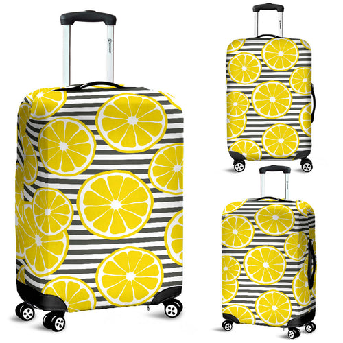 Slice Of Lemon Design Pattern Luggage Covers
