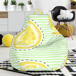 slice of lemon pattern Bean Bag Chair