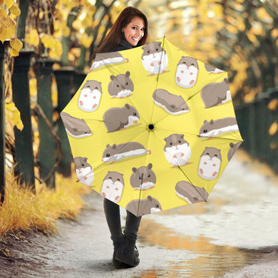 Cute Hamster pattern Umbrella
