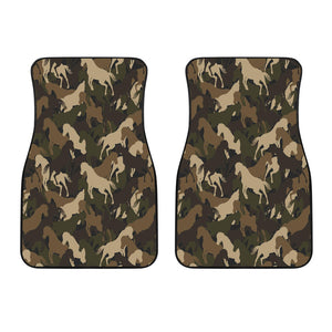 Horse Camouflage Pattern Front Car Mats