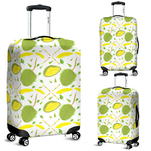 Durian pattern background Luggage Covers
