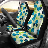 Blueberry Flower Pattern  Universal Fit Car Seat Covers