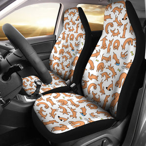 Dachshund V1 Car Seat Covers (Set of 2)