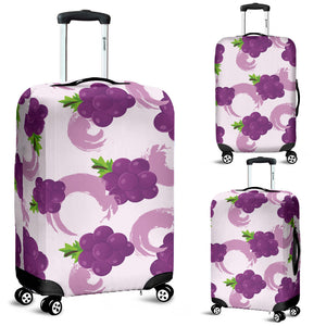 Cute Grape pattern Luggage Covers