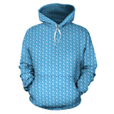 Sky Blue Horse Hoodies