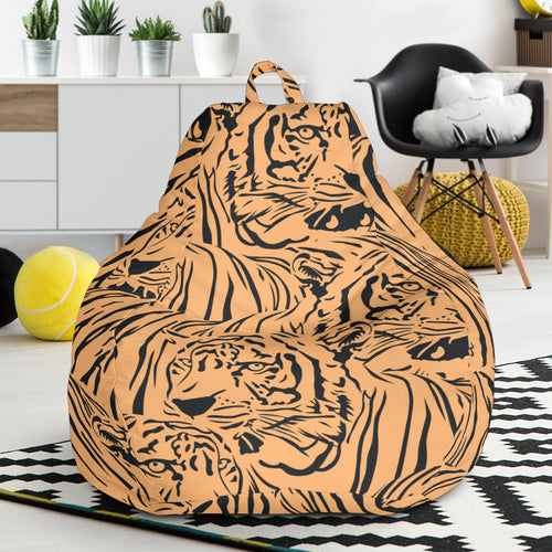 Bengal tigers pattern Bean Bag Chair
