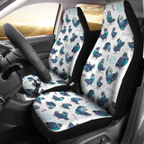 Pigeon Pattern Print Design 02 Universal Fit Car Seat Covers