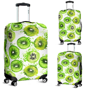 Watercolor Kiwi Pattern Luggage Covers