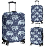 Elephant Tribal Design Pattern Luggage Covers