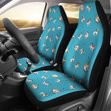Jack Russel Pattern Print Design 03 Universal Fit Car Seat Covers