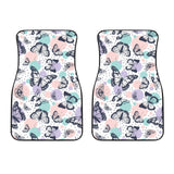 Butterfly Pattern  Front Car Mats