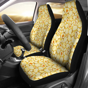 Popcorn Pattern Print Design 04 Universal Fit Car Seat Covers