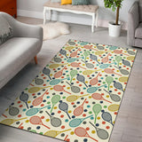 Tennis Pattern Print Design 03 Area Rug