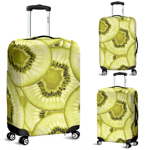 Sliced kiwi pattern Luggage Covers