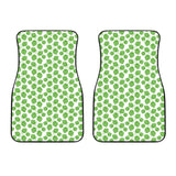 Hop Patternn Background Front Car Mats