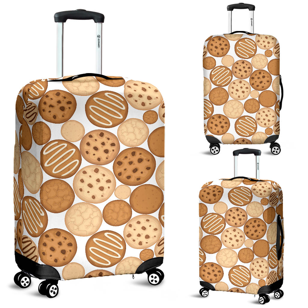 Various Cookie Pattern Luggage Covers