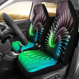 Floral Spiral Car Seat Covers