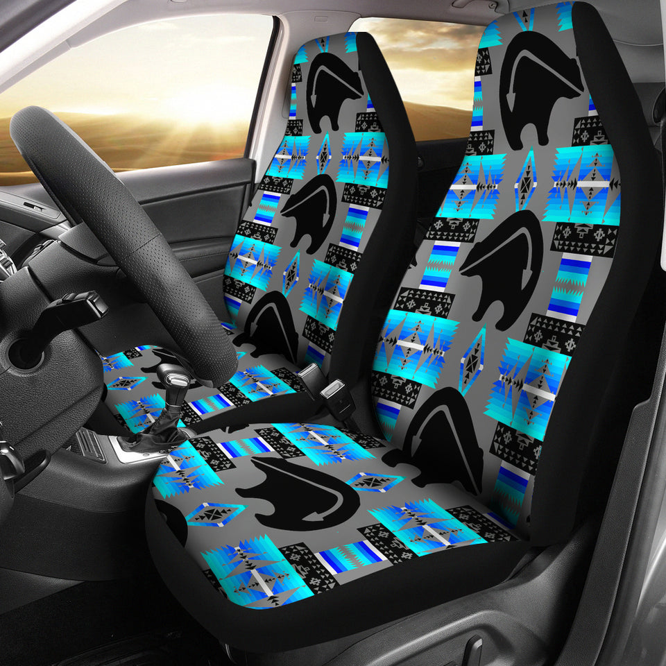 Bear Midnight Lake Car Seat Covers